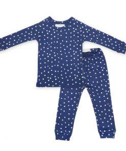 Pyjamas Midnight Blue White Spot auf www.mina-lola.com von Bob & Blossom