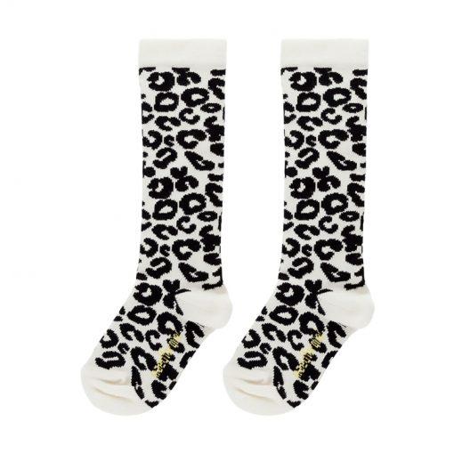 Socken White Leopard auf mina-lola.com Maed for Mini