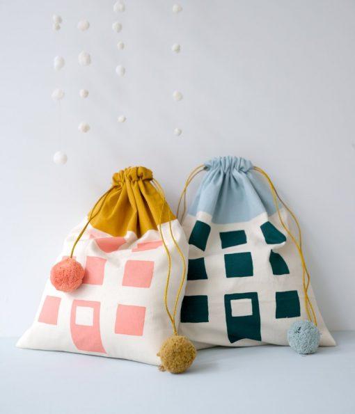 Copenhagen Gift Bag Coral auf www.mina-lola.com von Fabelab