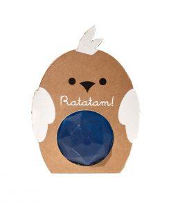 Flummi Vogel Diamant Blau Ratatam auf www.mina-lola.com