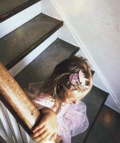 Haarclips TULPE Rose Little Olga auf www.mina-lola.com
