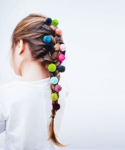 Haarspangen Pom Pom Grips auf www.mina-lola.com von Mimi & Lula