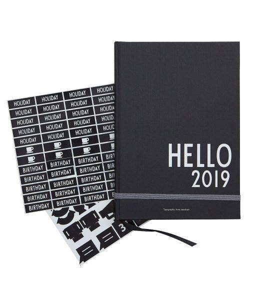 Kalender Hello 2019 von Design Letters auf www.mina-lola.com
