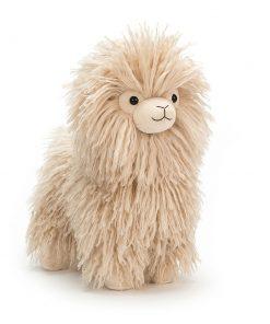 Kuscheltier Luscious Llama auf www.mina-lola.com von Jellycat