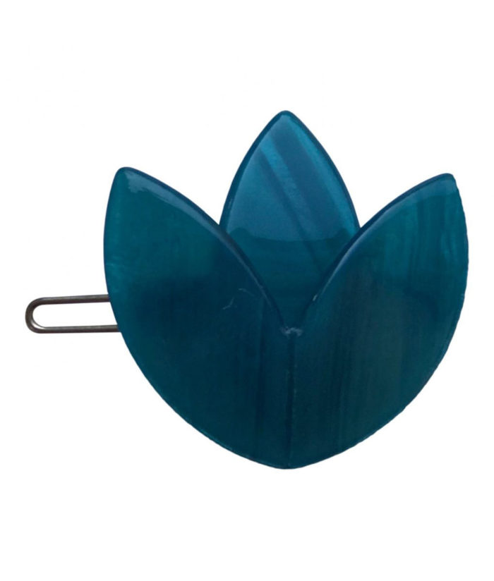 Haarclips TULPE Blau Little Olga auf www.mina-lola.com