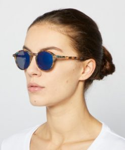#D Blue Tortoise - Blues mirror Lenses von Izipizi auf https://mina-lola.com