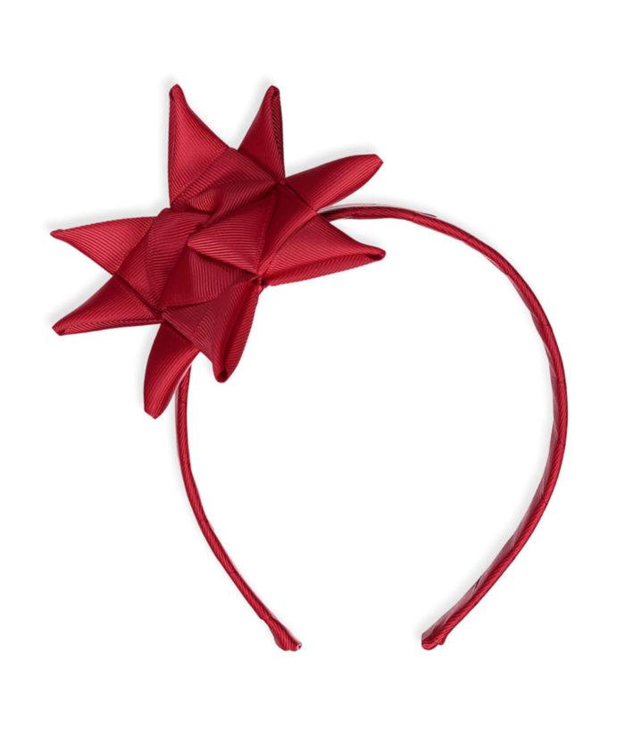 Haarreifen Stern Rot von Little Olga auf www.mina-lola.com