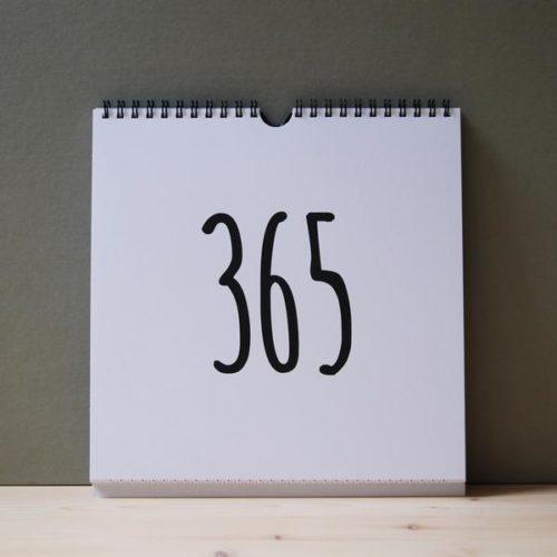 Jahreskalender 365 von auf www.mina-lola.com Goodgoods