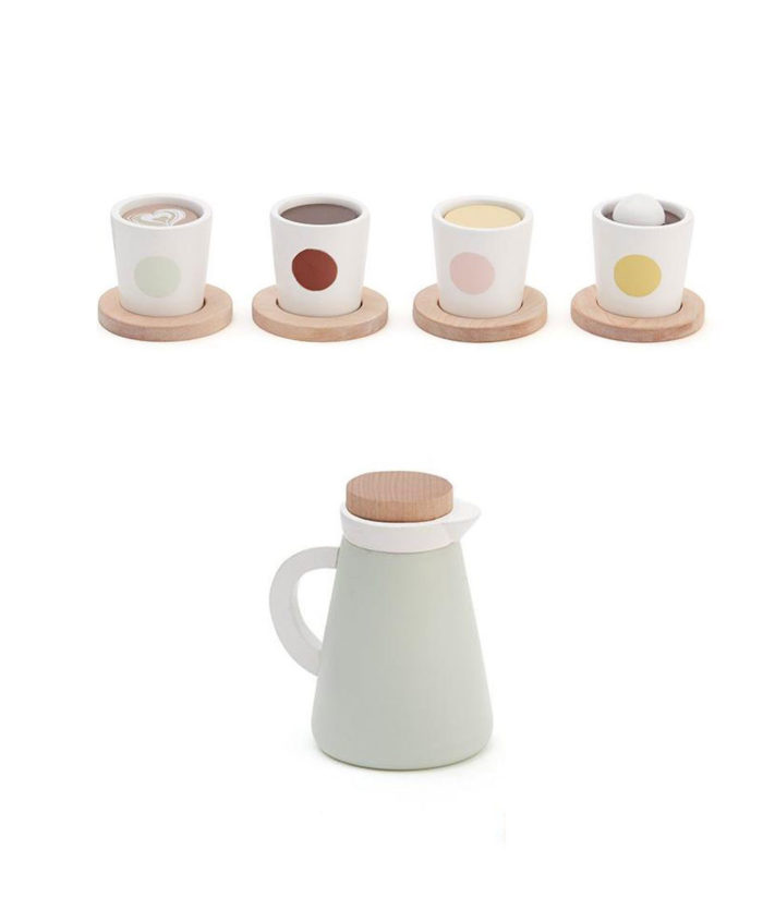Kaffee- und Teeset auf www.mina-lola.com von Kids Concept