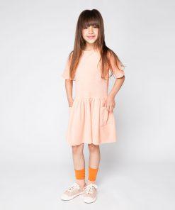 Kleid Peach Pink auf www.mina-lola.com von Mingo