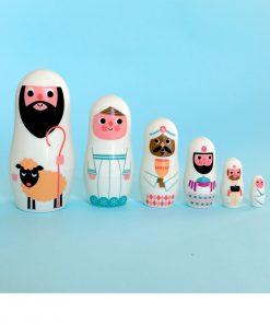 Pocket Matryoshka Weihnachten Omm Design auf www.mina-lola.com