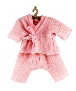 Puppenkleidung Kimono Rosa auf www.mina-lola.com Minikane