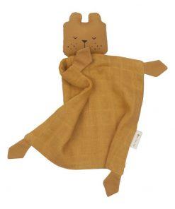 Kuscheltuch Bear Ochre auf www.mina-lola.com von Fabelab