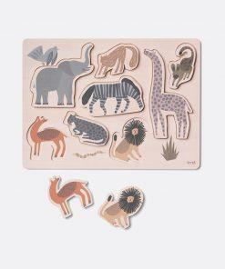 Safari Puzzle auf www.mina-lola.com von Ferm Living