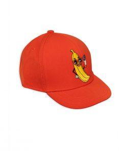 Cap Banana Trucker Red auf www.mina-lola.com von Mini Rodini