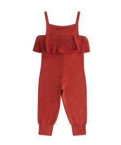 Spicy Parrot Knit Jumpsuit auf www.mina-lola.com von Maed for Mini