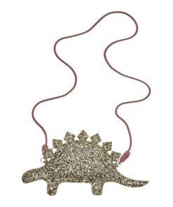 Umhängetasche Glitter Stegosaurus auf www.mina-lola.com von Mimi & Lula