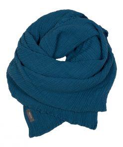 WAYDA Tuch Teal Blue BIG auf www.mina-lola.com