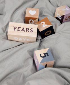 Wooden Age Blocks auf www.mina-lola.com von Ferm Living