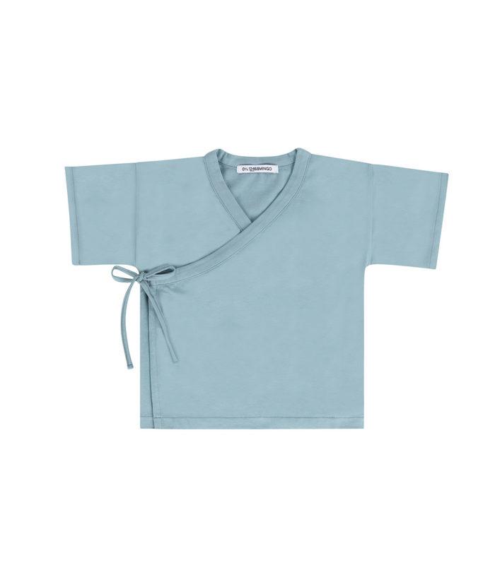 Wrap Top Smoke Blue auf www.mina-lola.com von Mingo