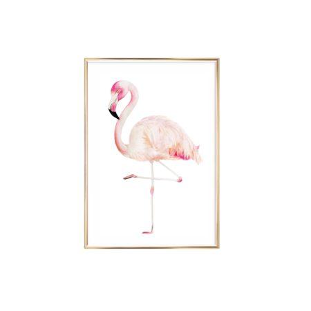 Artprint Aquarell Flamingo auf www.mina-lola.com von Eulenschnitt.