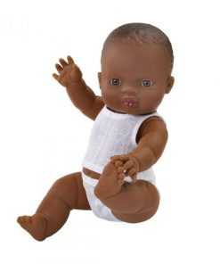 Baby Puppe GORDI African Girl von Paola Reina auf www.mina-lola.com