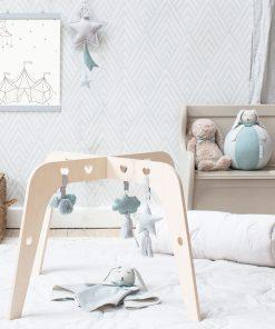 Babyspielzeug Baby Gym Ornaments Ocean My Mini Label auf www.mina-lola.com