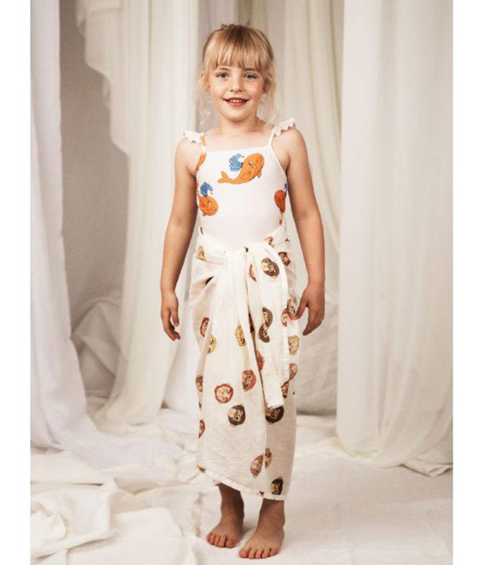 Badeanzug Whale Skirt von Mini Rodini auf www.mina-lola.com