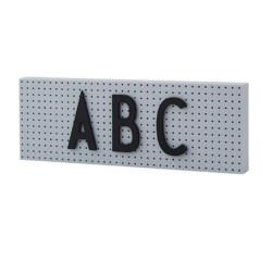 The Sign Nachrichtentafel Grey Design Letters auf www.mina-lola.com