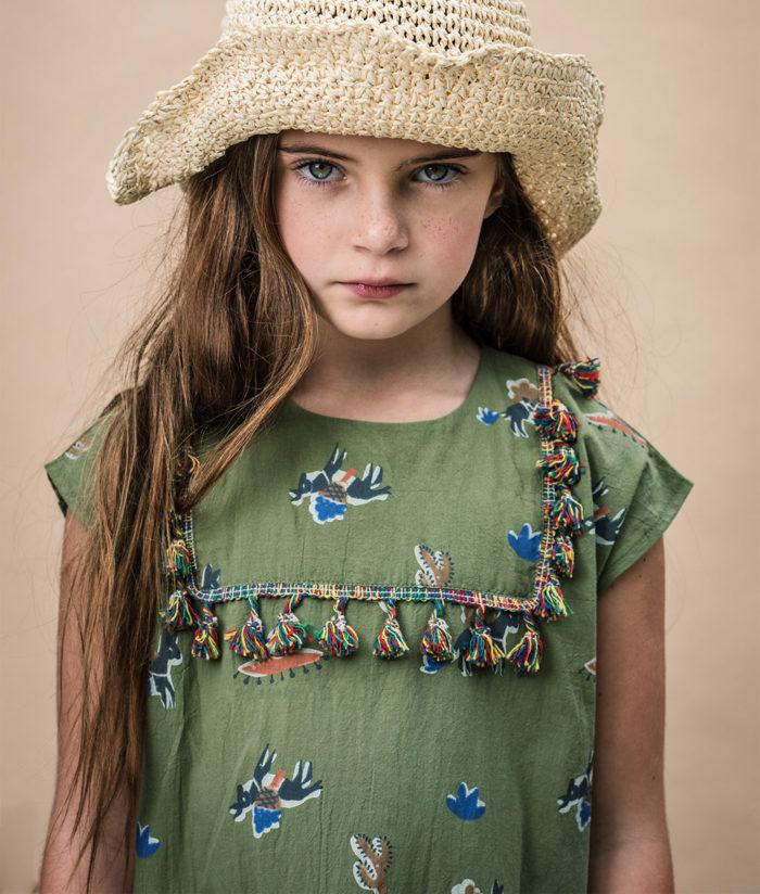 Kleid CAMILA von Wander & Wonder auf www.mina-lola.com