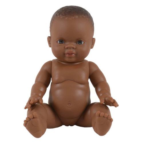 Baby Puppe Gordi African Girl auf www.mina-lola.com