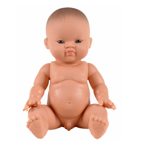 Baby Puppe Gordi Asian Boy auf www.mina-lola.com von Paola Reina