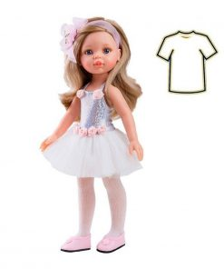 Puppenkleidung Kleid Carla Ballerina auf www.mina-lola.com von Paola Reina