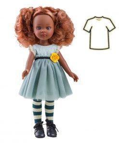 Puppenkleidung Kleid Nora auf www.mina-lola.com von Paola Reina