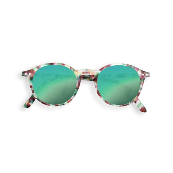 Sonnenbrille #D Green Tortoise Junior auf www.mina-lola.com von Izipizi