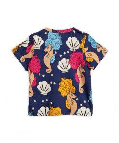 T-Shirt Seahorse Navy von Mini Rodini auf www.mina-lola.com