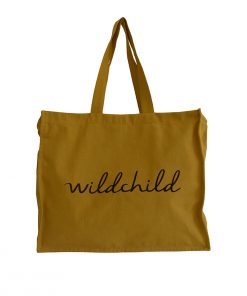 Tote Bag WILDCHILD Caramel My Mini Label auf www.mina-lola.com