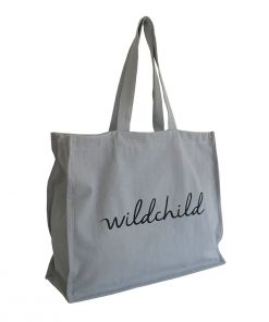 Tote Bag WILDCHILD Grey My Mini Label auf www.mina-lola.com