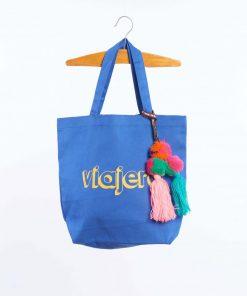 Tote Tasche Blue von auf www.mina-lola.com von Wander & Wonder