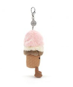 Amuseable Ice Cream Bag Charm auf www.mina-lola.com von Jellycat