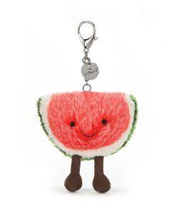 Amuseables Watermelon Bag Charm auf www.mina-lola.com von Jellycat