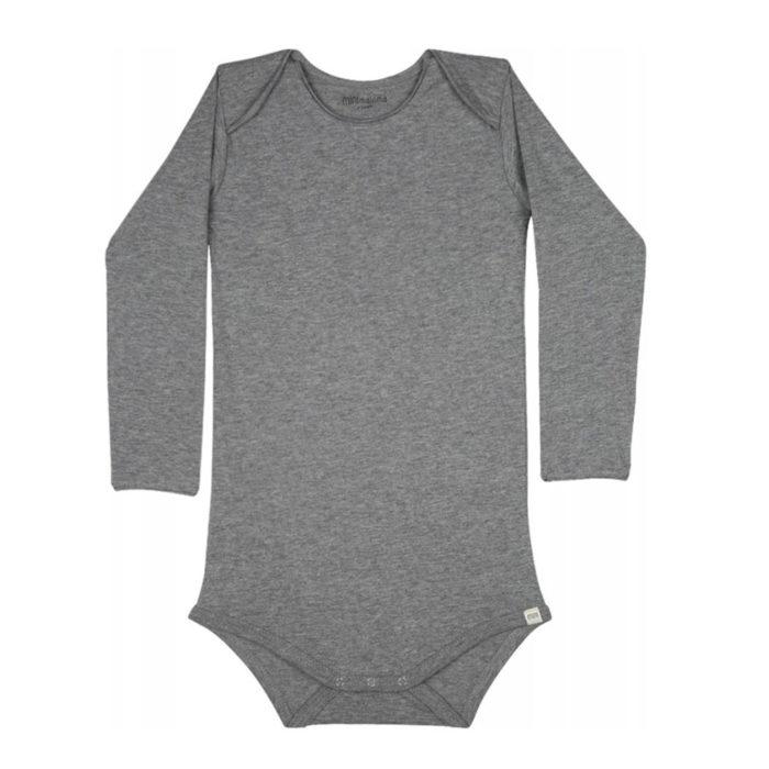 Body Norge grey melange auf www.mina-lola.com von Minimalisma