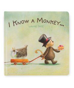 Buch I Know A Monkey auf www.mina-lola.com von Jellycat