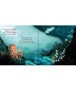 Buch The Fearless Octopus auf www.mina-lola.com von Jellycat