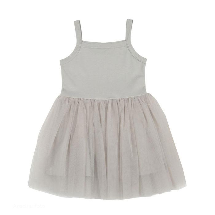 Dress Silver Grey Bob&Blossom auf www.mina-lola.com