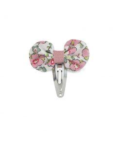 Haarclips Mini Pink Flower Luciole et Petit Pois auf www.mina-lola.com