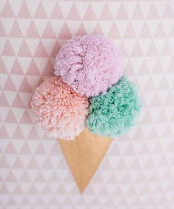 Kissen Ice Cream von Lilli-Marleen auf www.mina-lola.com