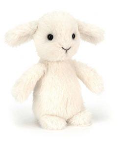 Kuscheltier Fluffy Lamb auf www.mina-lola.com von Jellycat