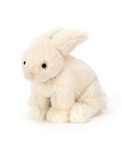 Kuscheltier Riley Rabbit Cream auf www.mina-lola.com von Jellycat.