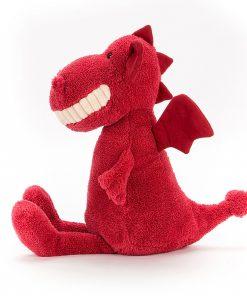Kuscheltier Toothy Dragon auf www.mina-lola.com von Jellycat